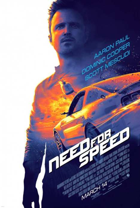Need For Speed poster oficial